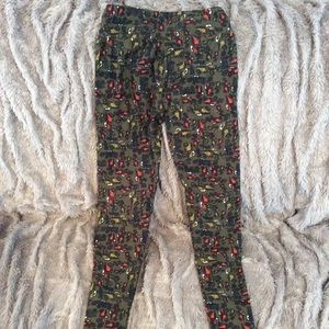 Lularoe car leggings. Like new